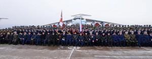 Вручение нового Знамени 117 овтап. Оренбург-2. 16.12.2014 г.