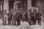 Офицеры 53 бад. Берлин. Рейхстаг. 11.05.1945 г.